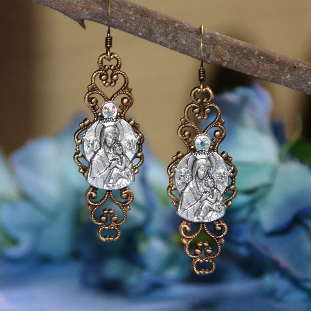 Our Lady of Perpetual Help Earrings