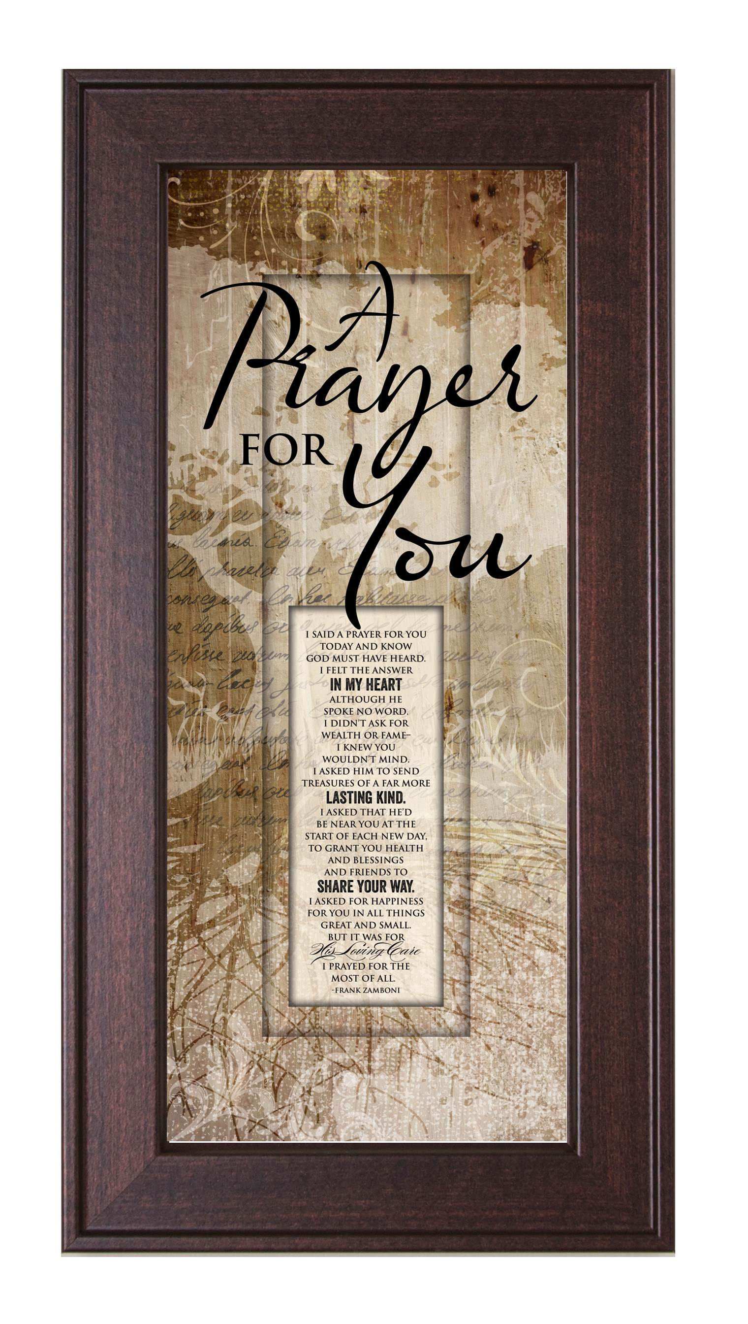 A Prayer For You Framed Print