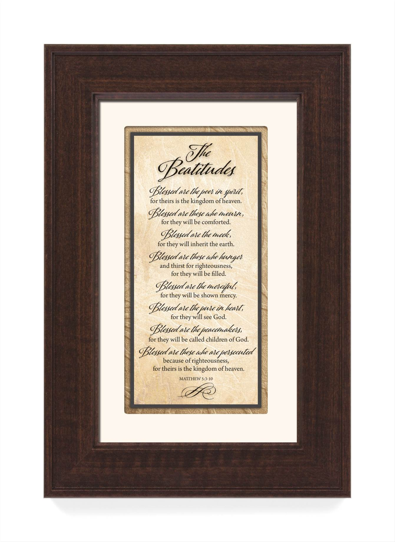 The Beatitudes Framed Decor