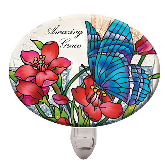 "4 1/2"" Butterfly Night Light"