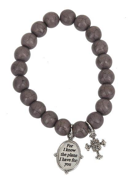For I Know the Plans Bracelet Scripture