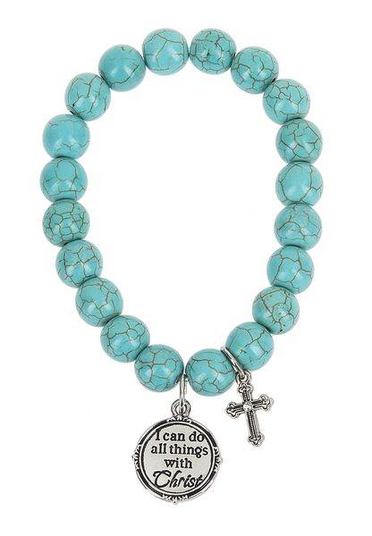 I Can Do All Things Through Christ Bracelet Scripture