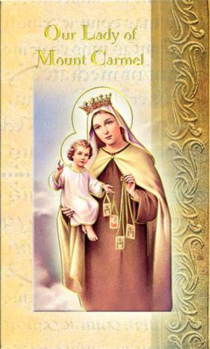 Our Lady of  Mt Carmel Biography Card
