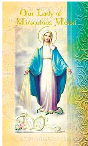 Our Lady  Miraculous Medal Bio Card