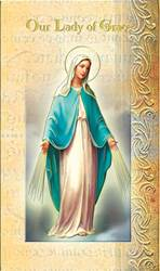 Our Lady of  Grace Biography Card