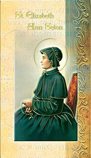 St. Elizabeth Ann Seton Biography Card