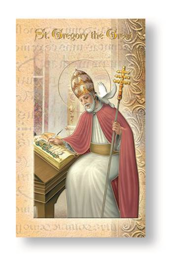 St. Gregory the Great Biography Card