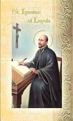 St Ignatius Loyola Biography Card