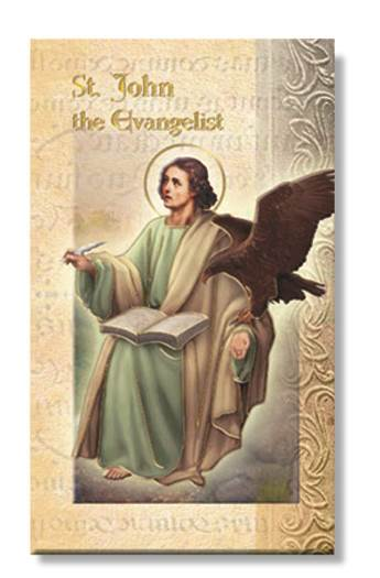 St. John The Evangelist Biography Card