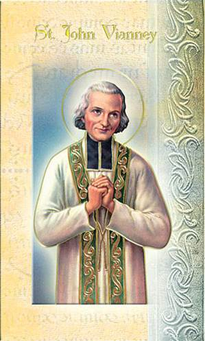 St. John Vianney Biography Card