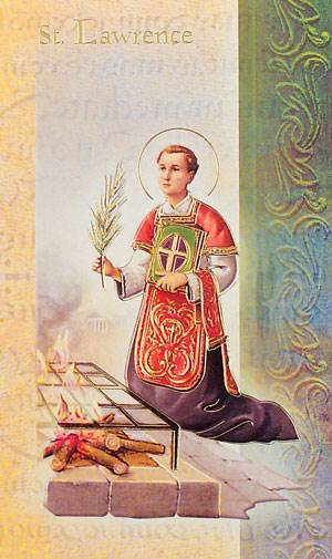 St. Lawrence Biography Card