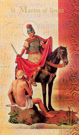 St. Martin of Tours Biography Card