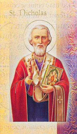 St. Nicholas Biography Card