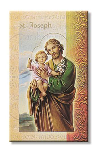 St. Joseph Biography Card
