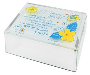 Jeweled Mirror Box-Someone Special