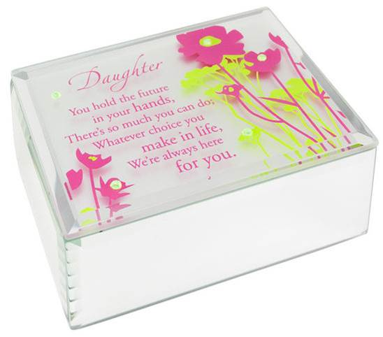 Jeweled Mirror Box-Daughter