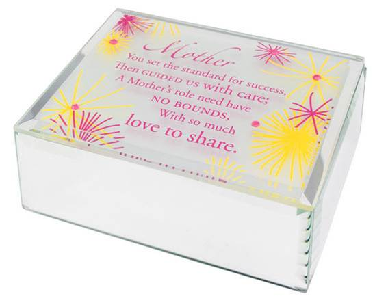 Jeweled Mirror Box-Mother