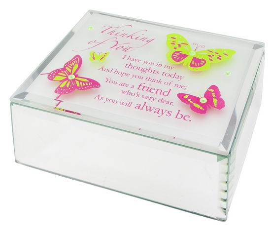 Jeweled Mirror Box-Thinking of You
