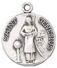 St. Genesius Medal on Chain