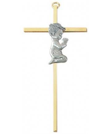 Kneeling Boy Wall Cross