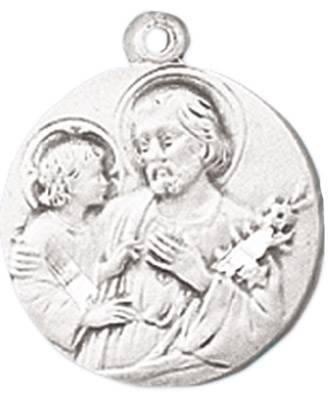 St. Joseph Medal on Chain