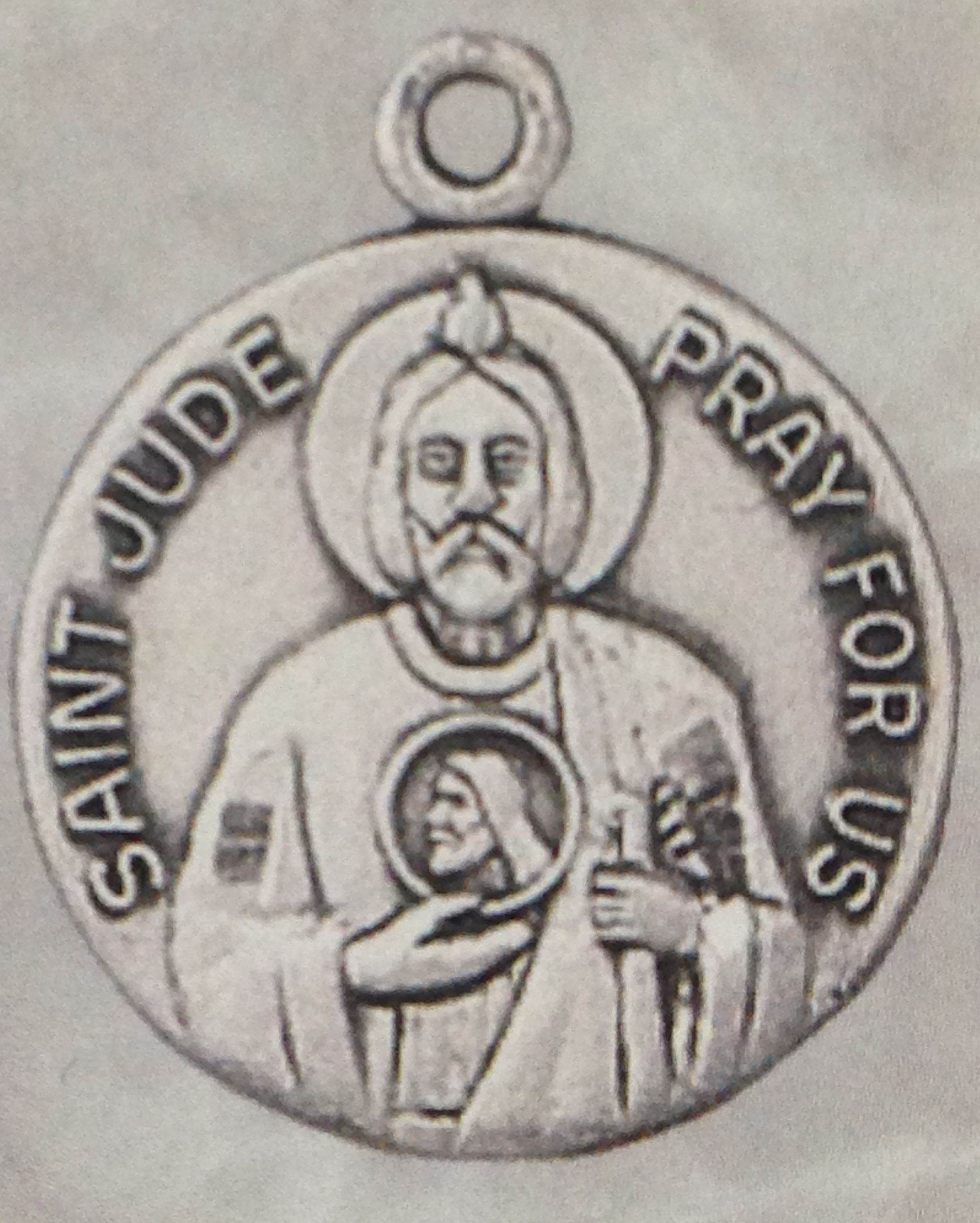 St. Jude Medal on Chain