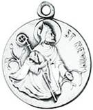 St. Kevin Medal on Chain