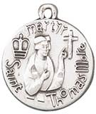St. Thomas More Pendant with Chain