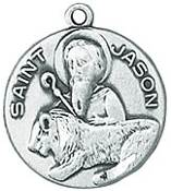 St. Jason Medal on Chain