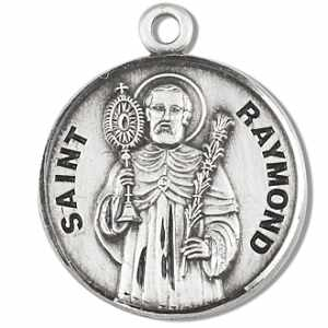 St. Raymond Medal on Chain