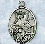 Guardian Angel Medal on Chain