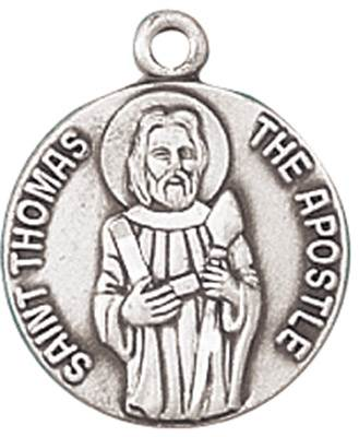 St. Thomas the Apostle Medal on Chain