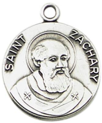 St. Zachary Medal on Chain