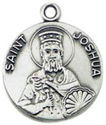 St. Joshua Medal on Chain