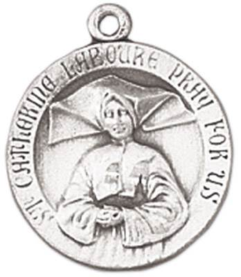St. Catherine Laboure Medal on Chain