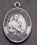 St. Gerard Oval Medal on Chain