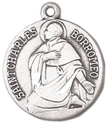 St. Charles Medal on Chain