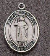 St. Stephen Oval Medal on Chain