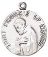 St. Francis of Assisi Medal on Chain