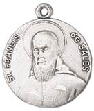St. Francis De Sales Medal on Chain