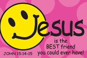 Pass It On-Jesus is the Best Friend 29155, message cards, holy cards, bookmarks, prayer cards, thougts, card to share, group gifts, inspirational gift, sacramental gifts,