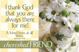 Pass It On-Cherished Friend 29146,message cards, holy cards, bookmarks, prayer cards, thougts, card to share, group gifts, inspirational gift, sacramental gifts,
