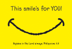 *DISC*Pass It On-This Smiles for You 27787, message cards, holy cards, bookmarks, prayer cards, thougts, card to share, group gifts, inspirational gift, sacramental gifts,