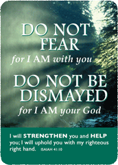 Verse Cards-Do Not Fear