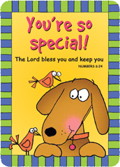Verse Cards-You're So Special
