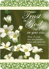 Verse Cards-Trust in God