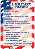 Verse Cards-A Military Prayer