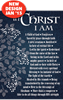 In Christ I Am-Large Poster 63428, poster. wall decor, large poster, inspirational message, teacher resource, school supplies, sunday school, classroom,