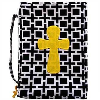 Bold Squares Bible Cover