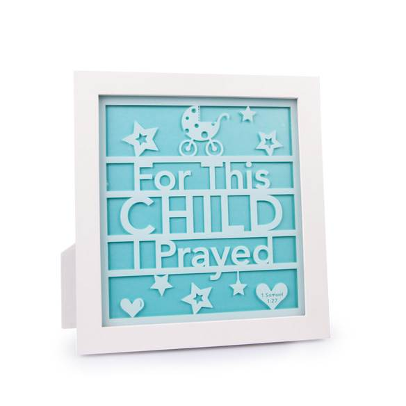 For this Child Glass Frame